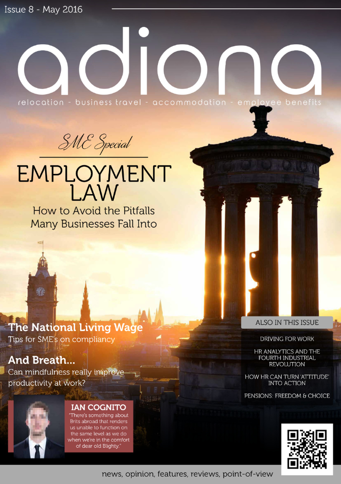 Adiona HR Magazine – May 2016