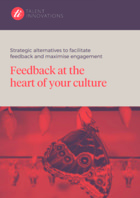 Strategic alternatives to facilitate feedback and maximise engagement