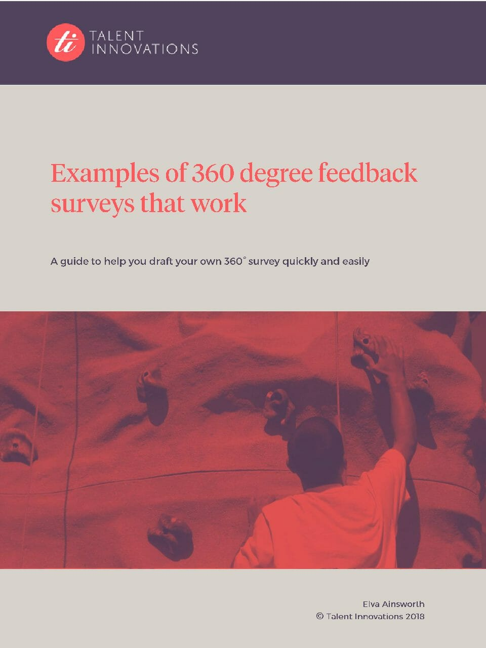 360 Guide 3 – Examples of 360 degree feedback surveys that work