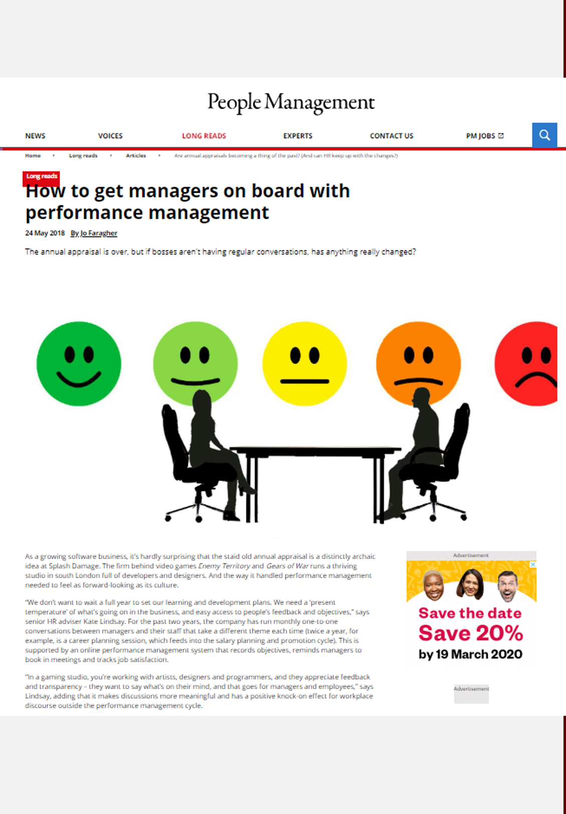 People Management – May 2018