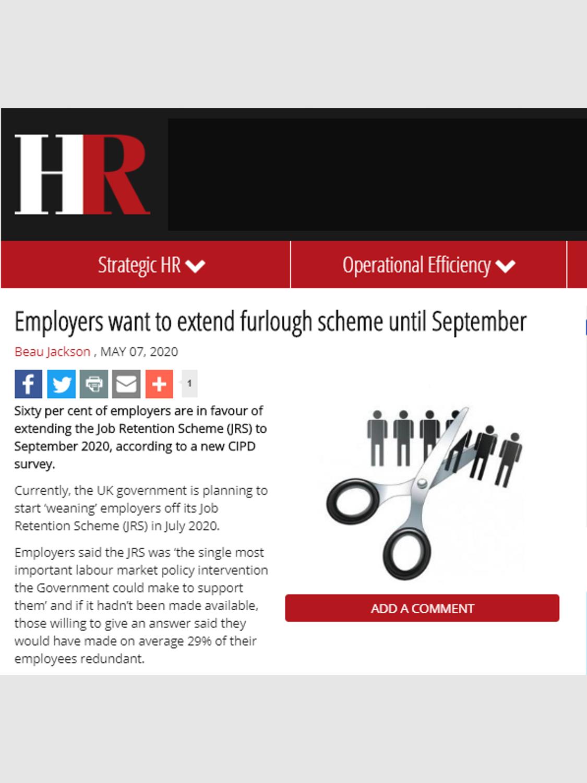HR Magazine – May 2020