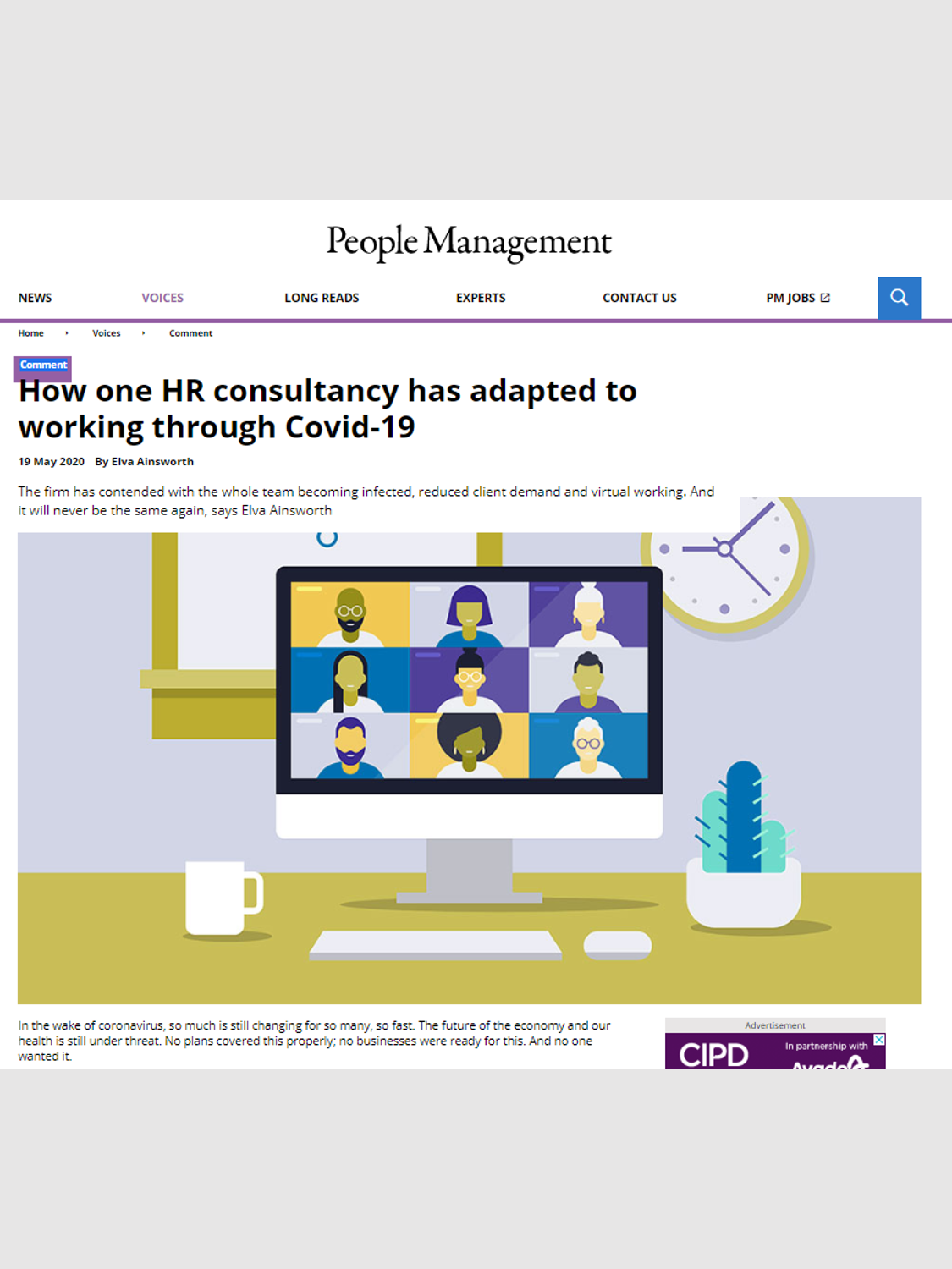 People Management – May 2020