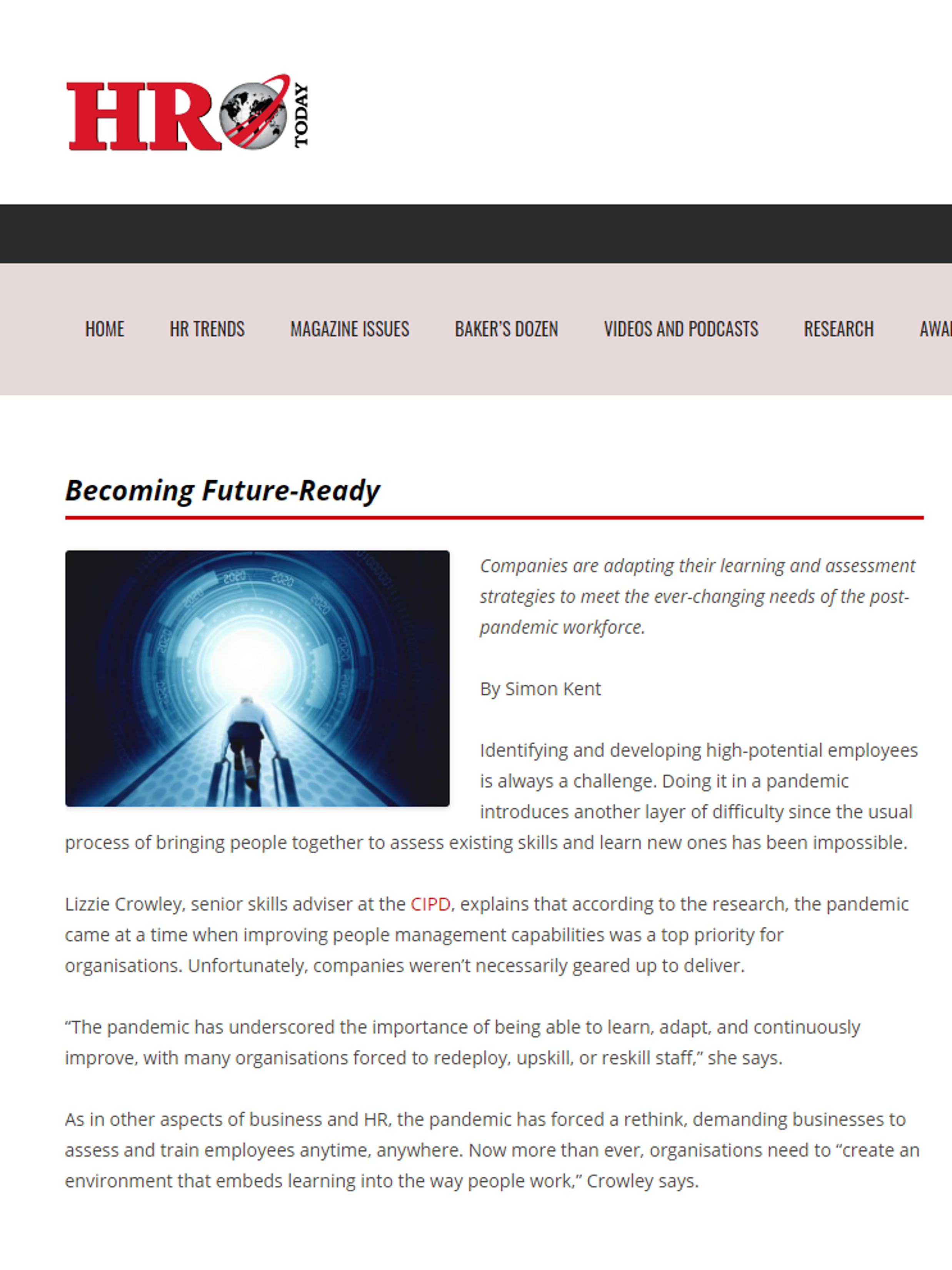 Becoming future-ready – Apr 2021